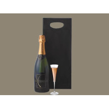 Die Cut Handle paper champagne Bag