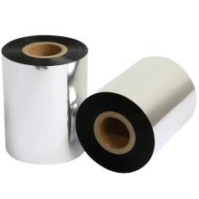 H527 110mm  wax resin ribbon 300m length gold printer foil