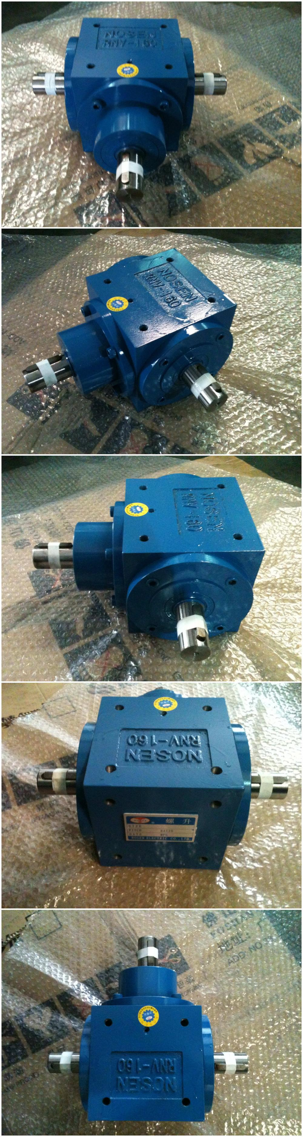 Superior Industrial Gear Transmission 1500 RPM 1:1 Right Angle Winch Gearbox