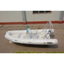 CE RIB580 esporte barcos infláveis luxuoso iate motor de popa 60hp motor