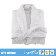Günstige weiße extra lange Frauen Frottee Hotel Bademäntel