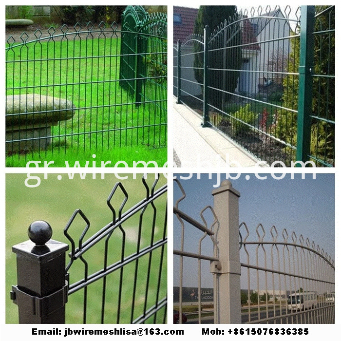 868/656 Double Welded Wire Mesh Fence