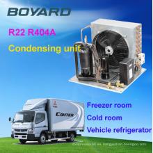 Boyard refrigeración tipo de compresor y CE certificación R404a condensación unidad de almacenaje frío de la habitación