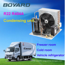 boyard Compressor Type and CE Certification R404a refrigeration Condensing Unit For Cold Room Storage