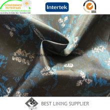 100% Polyester Mode und weiche Herrenanzug Futter gedruckt Futtermuster
