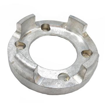 Gravador de alumínio de anodização de prata de alta precisão com precisão Cnc