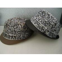 Sombrero de Fedora del caballero de encargo Gorros Bordados