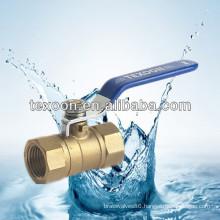 standard port brass ball valves with light duty Lead free