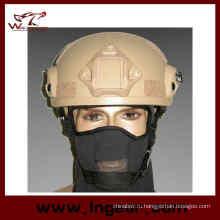 Военные Mich 2001 Ach шлем с Nvg горе & стороны железнодорожных действий версия пейнтбол шлем