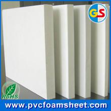 Fábrica de producción de láminas de espuma de PVC de madera (Densidad: 0.4-0.8g / cm3)