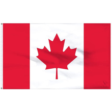 European Cup Promotion Polyester Canada National Flag 3x5