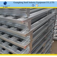 Pálete de empilhamento galvanizada industrial do metal 1200X1200
