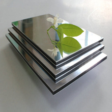 Decorative Mirror Acp Panel  with Metal Coated