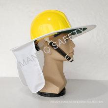 Hi-Viz Safety Sun Brim используется на шлеме
