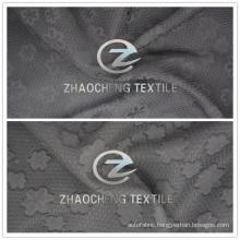 2016 Jacquard Polyester Chiffon Fabric for Fashion Dresses Uses (ZCFA001)