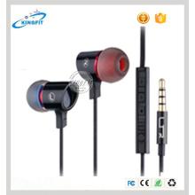 Promoção presente com fone de ouvido fone de ouvido estéreo com controle de Volumn