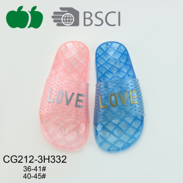 Cheap Women Jelly Pvc Plastic Slippers