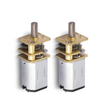 Low current low voltage geared dc armature gy6 motor for coffee machine
