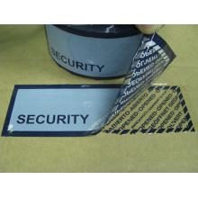 Etiqueta de segurança Fractius