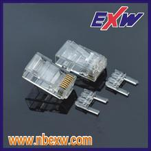 Cat6 8P8C Conector UTP no blindado