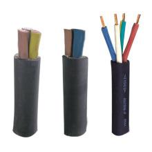 Câble flexible à gaine en caoutchouc général multi-core