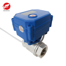 Stainless steel flow variable flow control valve
