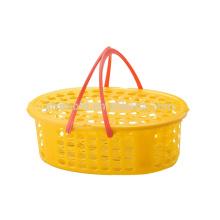 Buen precio personalizado regalo cestas de frutas cesta de plástico molde