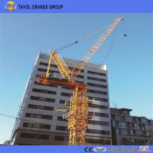 Qtd4015 6ton Luffing Jib Tower Cranes Schwere Ausrüstung Bau