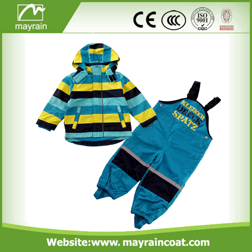 Cartoon Polyester Raincoats Rainsuits