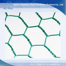 Mesh métallique hexagonale galvanisé ou en PVC de haute qualité (fabricant)