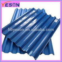 Chapas corrugadas de techos de zinc / aluzinc / color