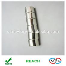 N40 Nickel Beschichtung Zylinder Neodym-Magneten
