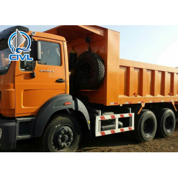 Jerman Technology 6x4 tipper truck BEIBEN jenama
