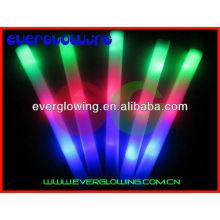 néon LED flash mousse baguette magique pour la nuit parti toute vente 2016