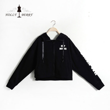 Pullover Full Sleeves Casual Black Breathable Hoodies Sweatshirts