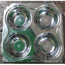 Molde de compressão personalizado da bacia da melamina da cavidade 1 * 4 (MJ-015)