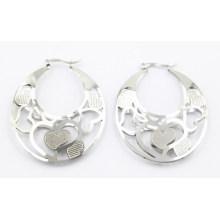 Boucles d'oreilles en acier inoxydable en acier inoxydable