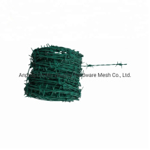 China Supply Bwg 12 PVC Barbed Wire Ebay Aamzon Low Price