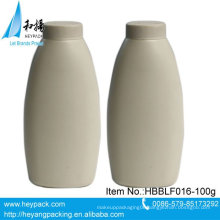 100g oval plastic powder bottle package