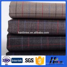 Beliebte Wolle Stoff verwenden Männer Kleidungsstück Qualität Tr Wolle Anzug Stoffe