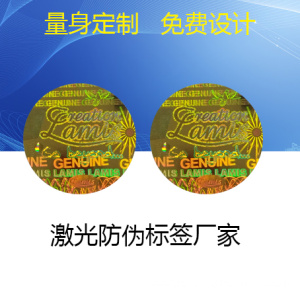 Self Adhesive 3D Hologram Label Sticker