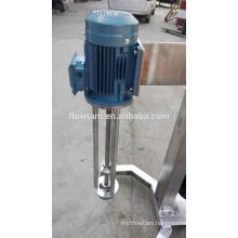 Hot sale sanitary ss304 emulsifying shear mixer,cosmetic emulsifying machine