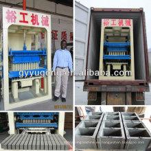 ¡Marca mejor! ¡Una mejor calidad! Marca de fábrica de Yugong QT10-15 ladrillo concreto que hace la máquina con precio competitivo