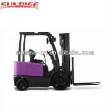 4 rodas 2.5 ton empilhadeira elétrica da bateria empilhadeira tensão 48v preço barato da empilhadeira for sale