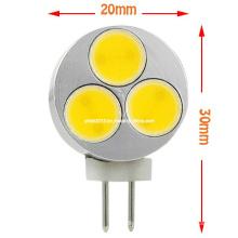 Nuevo 12 Volt G4 3W COB LED Bombilla
