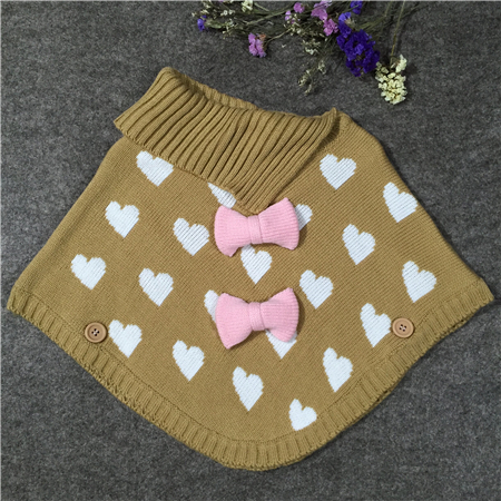 kids sweater poncho-2