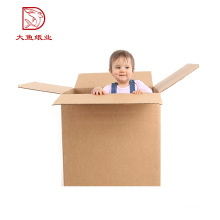 Bulk wholesale customized size square popular large size paper box 3 ply