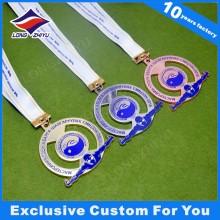 Medallas de natación Medallas deportivas personalizadas Medallas de metal