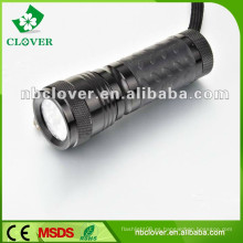 Promoción 12000-15000MCD 14 llevó mini linterna led de aluminio