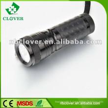 Promotion 12000-15000MCD 14 led mini lampe de poche en aluminium